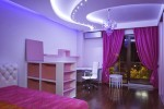Wedo thiết kế phòng ngủ ngọt ngào, lãng mạn với màu tím