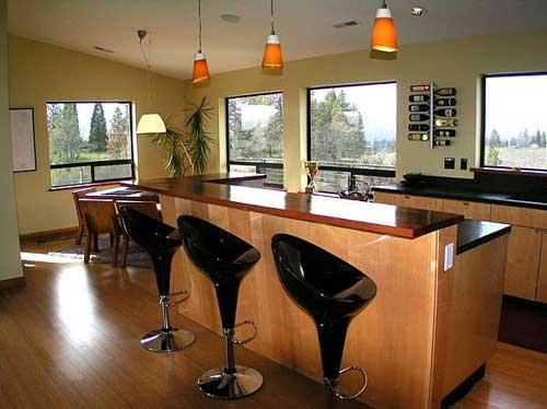 Wedo thiết kế quầy bar tại nhà đẹp