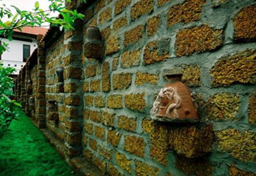 Wedo thiết kế tiểu cảnh sân vườn đẹp với đá ong