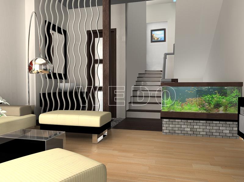 Ảnh 3: Nội thất phòng khách (góc nhìn 2)