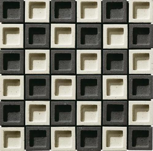 Mẫu gạch inax mầu trắng đen tương phản