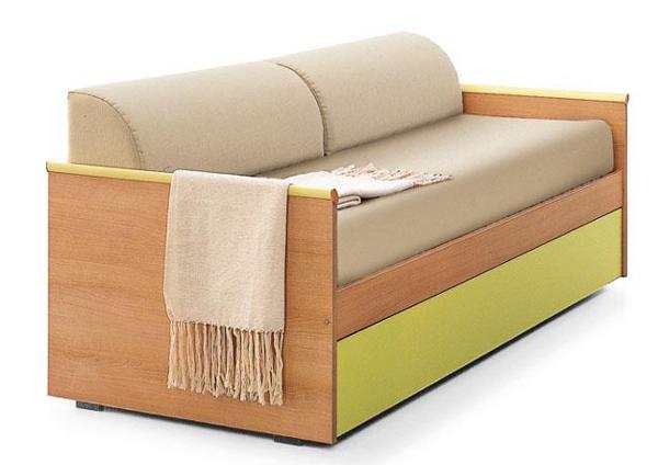 Ghế sofa giường chuyển đổi cơ động giữa ghế và giường