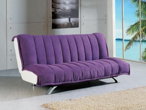 Ghế sofa giường phong cách trẻ chung chuyển đổi cơ động giữa ghế và giường