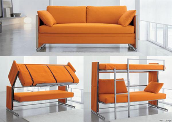 Ghế sofa giường phong cách hiện đại chuyển đổi cơ động cho không gian linh hoạt