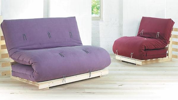 Ghế sofa giường như các bạn gái điệu đà cho không gian linh hoạt