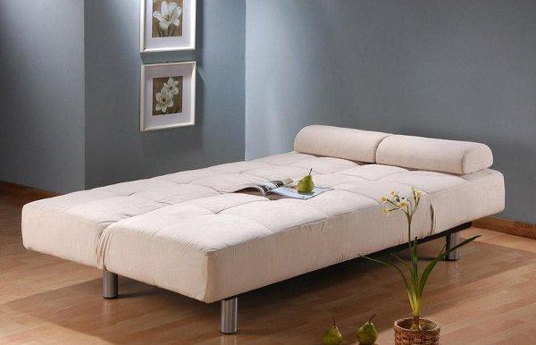 Ghế sofa giường - hình ảnh khi biến thành giường