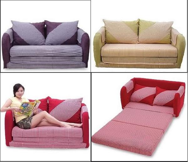 Ghế sofa giường - chuyển đổi cơ động giữa ghế và giường
