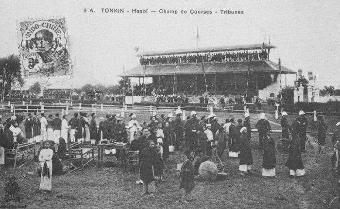 Sân quần ngựa xưa - ảnh chụp đầu thế kỷ 20