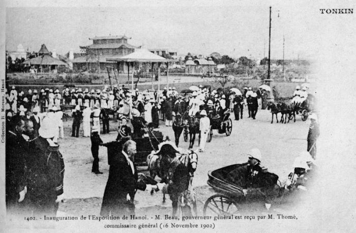 Vừa hoa nhà kèn xưa - ảnh chụp Hà nội đầu thế kỷ 20
