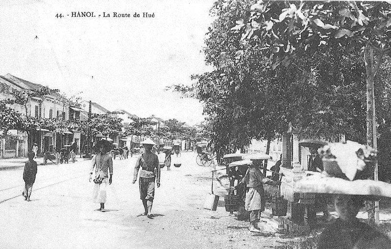 Phố Huế xưa - ảnh chụp Hà nội đầu thế kỷ 20