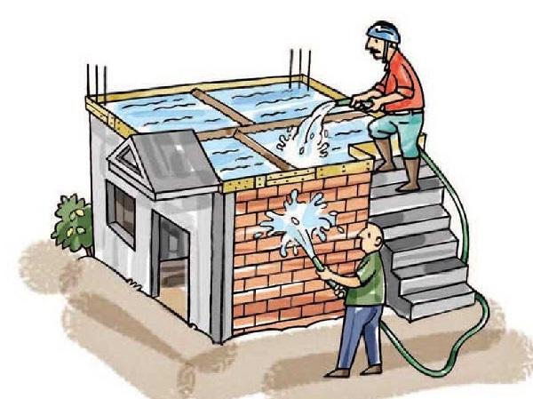 Cách ngâm nước xi măng chống thấm và kiểm tra chống thấm
