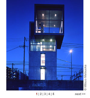 Nhà nhỏ 4m x4m nổi tiếng của Tadao Ando