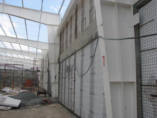 Tường 3d cho nhà công nghiệp
