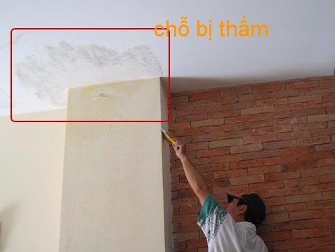 Nhà bị thấm sàn và tường - Cách chống thấm