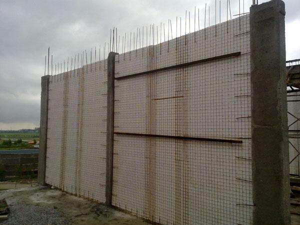 Thi công tường 3d