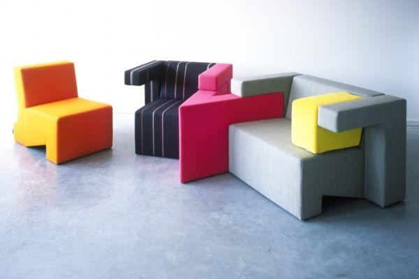 Bạn có thể tự quyết định màu sắc mỗi lần ghép ghế. Điều này thật tuyệt phải không nào.