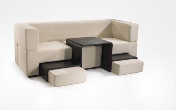 Kiểu bàn này rất phù hợp với không gian nhà chật.