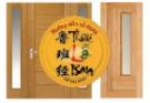 Làm cửa gỗ theo kích thước lỗ ban