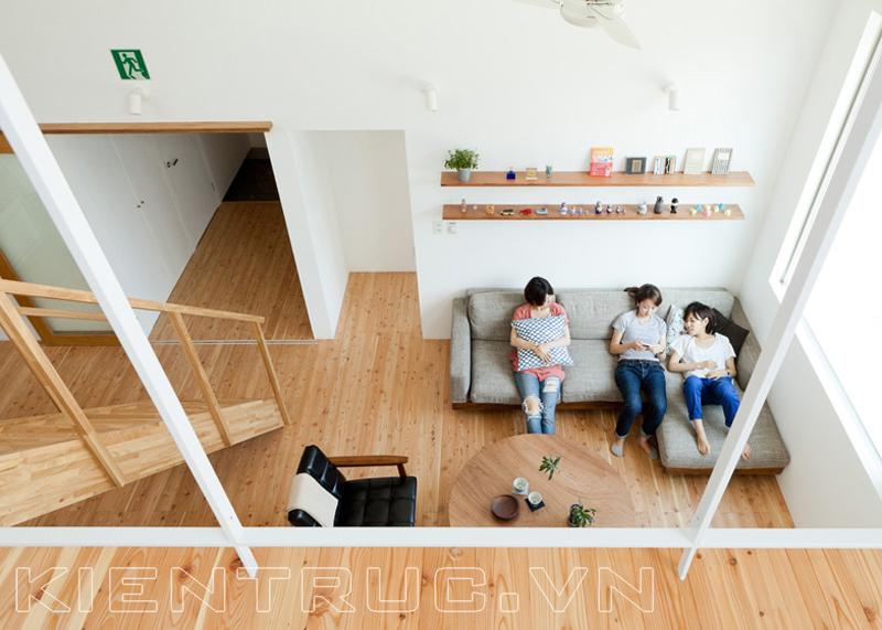 Ngôi nhà được tạo ra theo nguyên tắc xây dựng cộng đồng