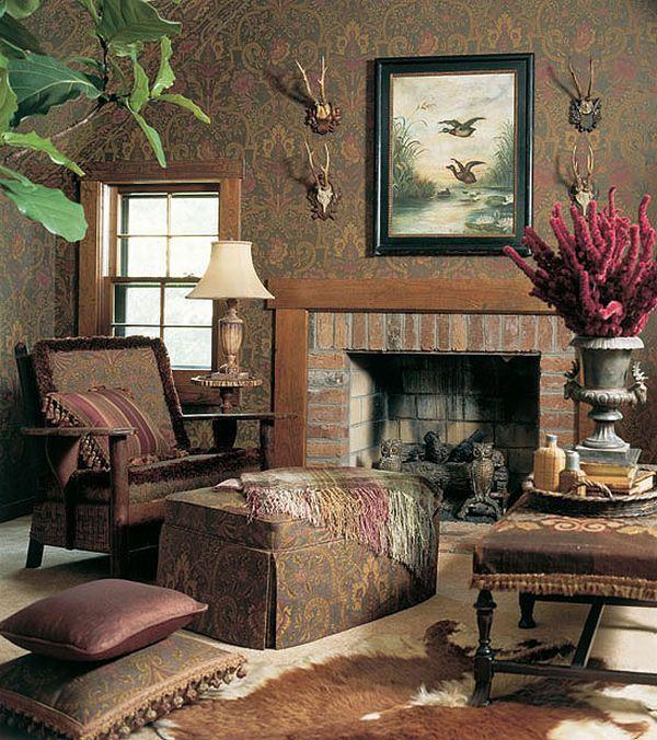 Nội thất phòng khách phong cách Pháp sang trọng