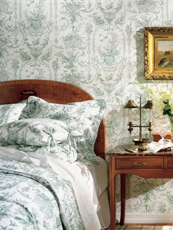Nội thất phòng ngủ phong cách Pháp