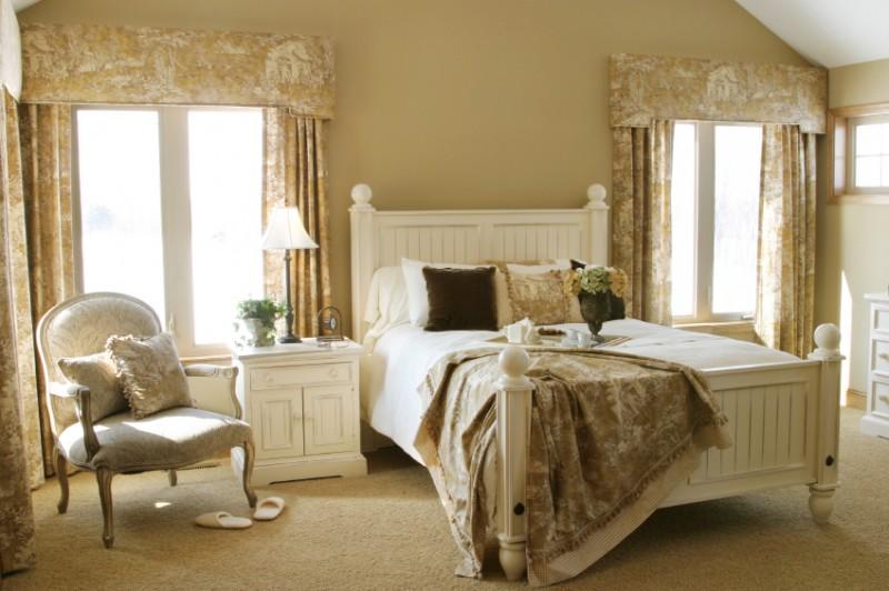 Nội thất phòng ngủ phong cách Pháp đẹp