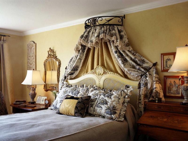Nội thất phòng ngủ phong cách Pháp sang trọng