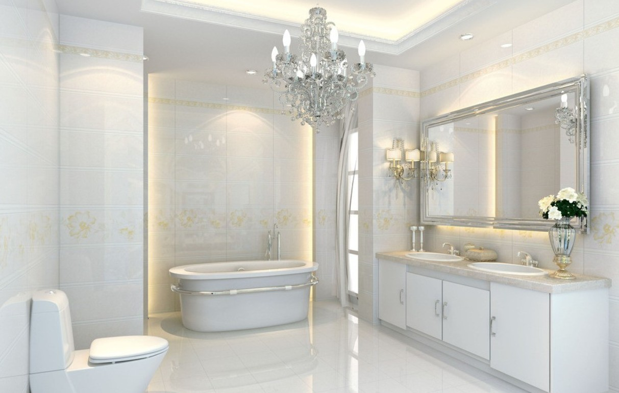 Interior Design Furniture Layout Bathroom ~ Nội thất phòng tắm t n cổ điển