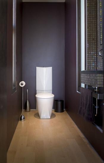 Gam màu tối không chỉ sang trọng và còn tạo ra chiều sâu cho căn phòng.