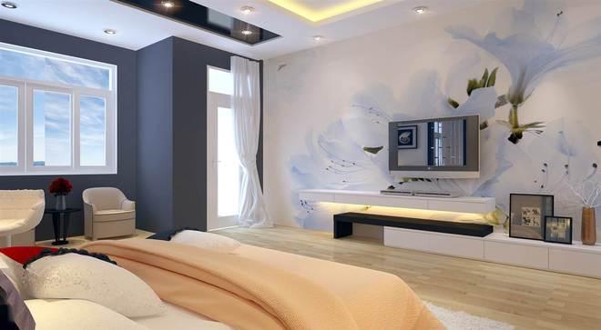 Mảng tường hoa cho phòng ngủ