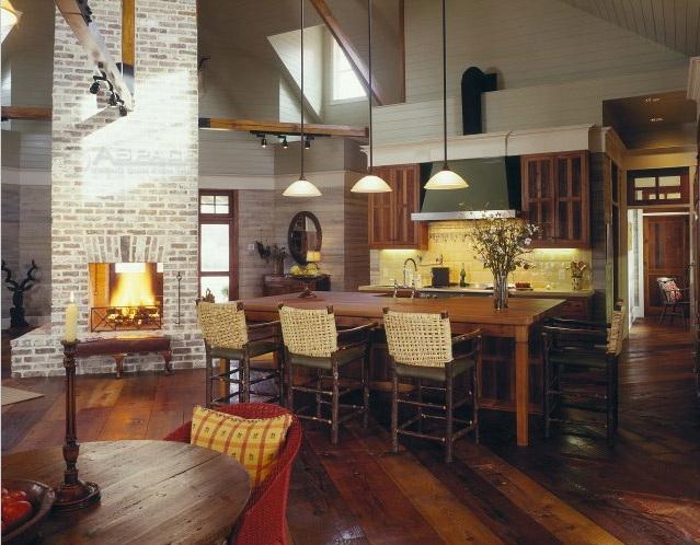 Phòng ăn gạch mộc 3