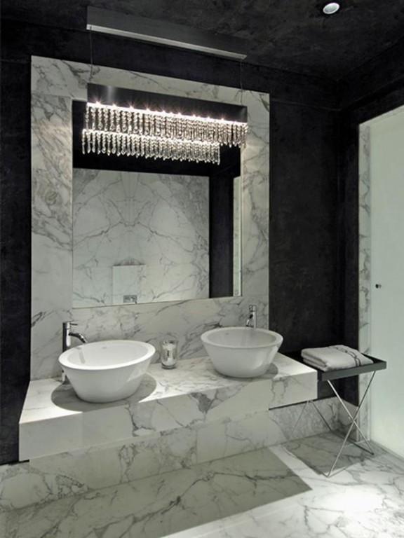 Phòng tắm đá hoa cương