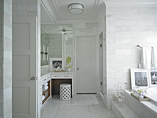 Phòng tắm không gian mở