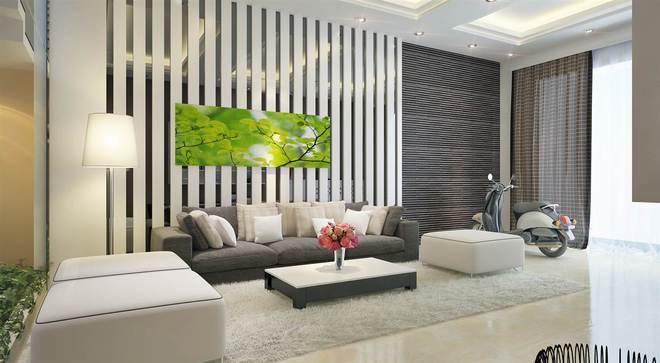 Sofa sám trắng sang trọng