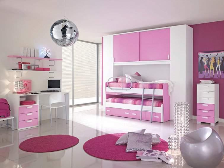 Phòng ngủ trẻ hồng 15