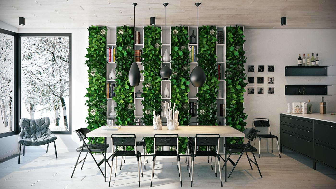 Wedo thiết kế nội thất phòng ăn đẹp đón hè