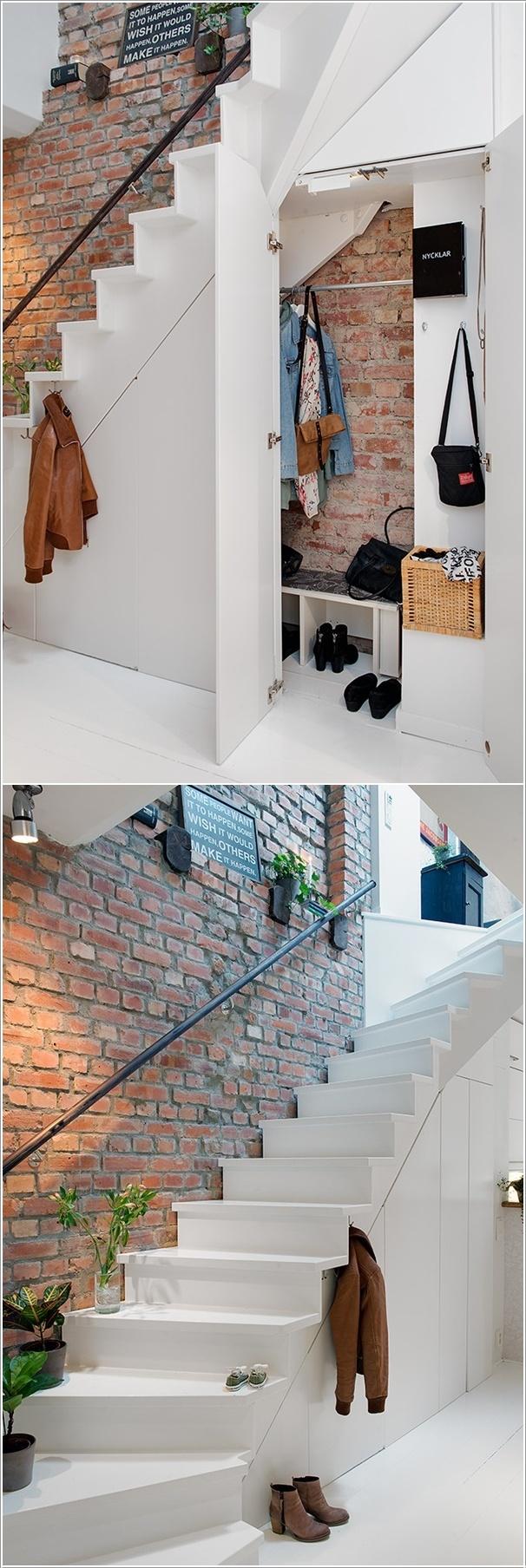 Ý tưởng thú vị cho gầm cầu thang