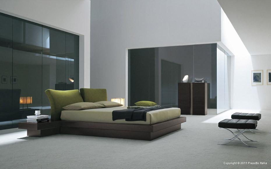 Mẫu giường ngủ hiện đại phong cách Italia