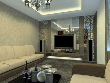 Nội thất đẹp cho phòng giải trí