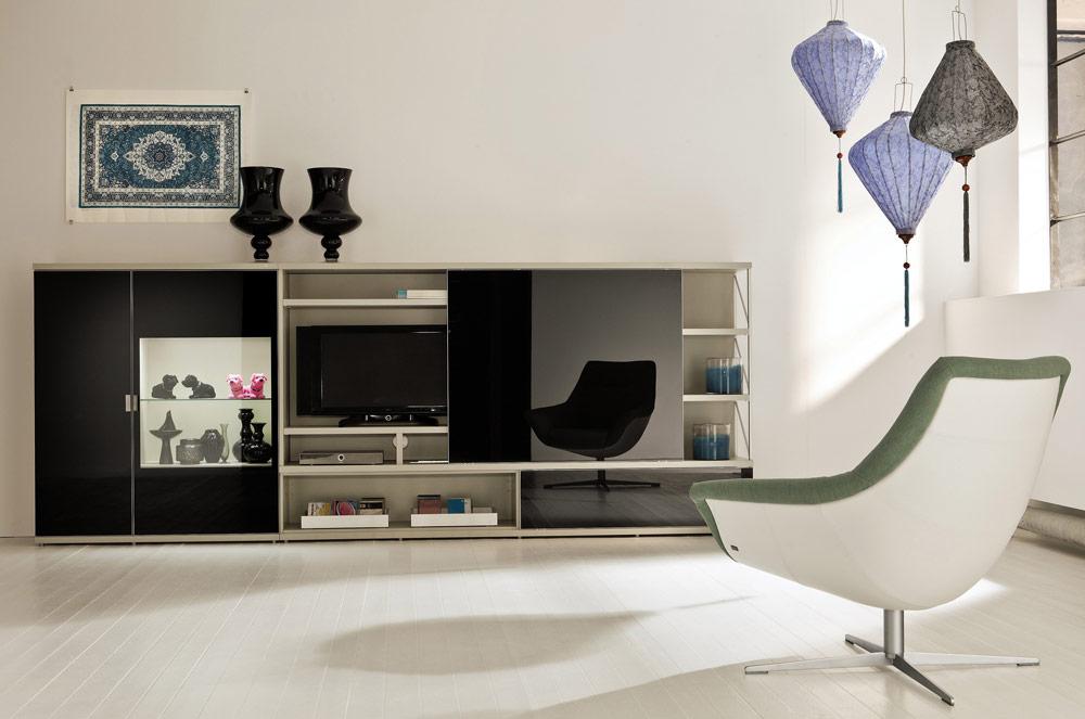 Phòng khách đơn giản, hiện đại