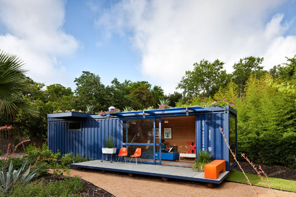 Ngôi nhà làm từ container