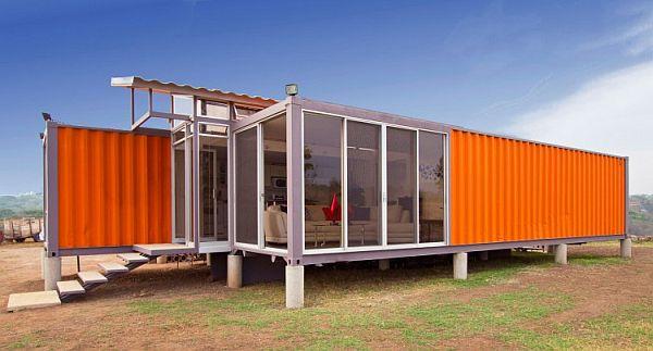 Nhà đẹp làm từ container