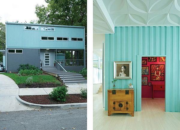 Nhà đẹp và độc đáo làm từ container