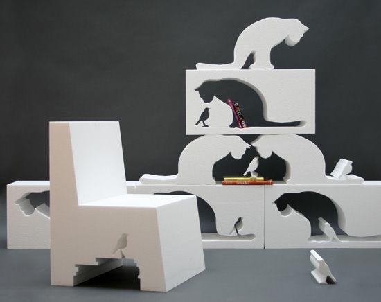 Đồ nội thất sáng tạo độc đáo
