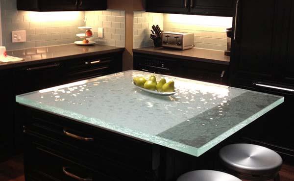 Mau ban bep dep 18 Chia sẻ 22 Mẫu bàn KÍNH đẹp lung linh cho không gian bếp nhà bạn