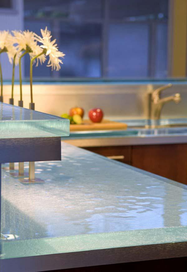 Mau ban bep dep 21 Chia sẻ 22 Mẫu bàn KÍNH đẹp lung linh cho không gian bếp nhà bạn