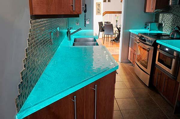 Mau ban bep dep 4 Chia sẻ 22 Mẫu bàn KÍNH đẹp lung linh cho không gian bếp nhà bạn