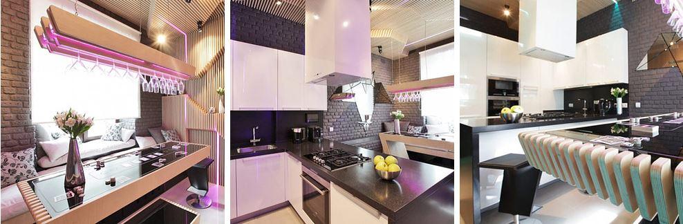 Mẫu nhà bếp hiện đại, đơn giản và đẹp