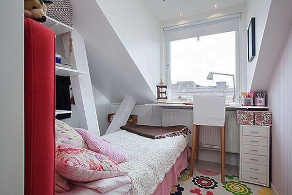 Ý tưởng thiết kế kéo rộng phòng ngủ nhỏ