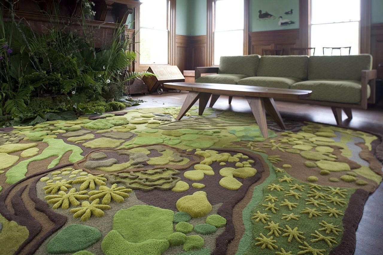 Mẫu thảm đẹp cho sàn nhà ấm áp 4